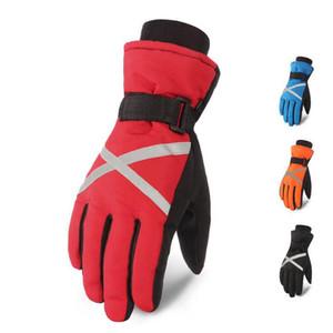 Ski Handschuhe Männer Warm Winter Wasserdichte Ski Snowboard Handschuhe Snowmobile Radfahren Reiten Motorrad Outdoor Windstopper Schnee Handschuhe 4 Farben