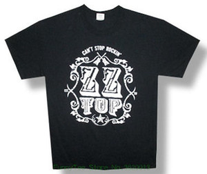 Zz Top can&#039 ; T Stop Rockin&#039 ; 2013 Tour black T shirt