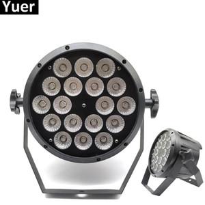 Alüminyum Alaşım LED Par 18x12 W RGBW 4in1 LED Par Led Par Işık Olabilir DMX Sahne Işıkları veya Parti KTV Disko DJ Lambası DMX512