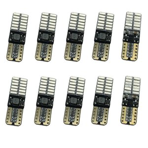 12V 24V Keine Polarität Canbus T10 LED-Lampen mit 4014SMD 24 LED-Innenbeleuchtung W5W LED-LAMPE weiß blau KEIN OBC-FEHLER