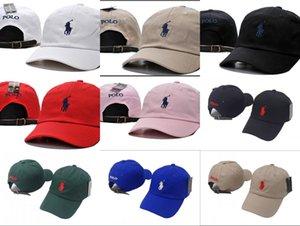 Новые поступления мужская мода поло кепка для гольфа классические бейсболки полиэстер регулируемый равнина поло snapback кости шляпа открытый солнце шляпа папа