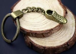 6 Pieces Key Chain Women Key Rings Couple Keychain For Keys Sneaker Shoe 27x9mm