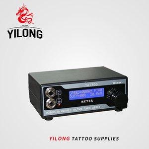 Yilong татуировки питания ЖК-дисплей цифровой источник питания татуировки очередь Блок питания татуировки машина питания чернила