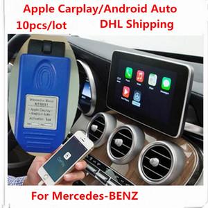 2018 10 pçs / lote para Mercedes Benz NTG5 S1 Apple Carplay e Android Auto Ativação Ferramenta para iPhone / Android Telefone DHL Navio