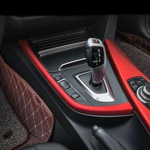 자동차 스타일링 내부 기어 시프트 박스 패널 커버 트림 설치 BMW 3 용 장식 스트립 스티커 4 시리즈 3GT F30 F31 F32 F34 F36 액세서리