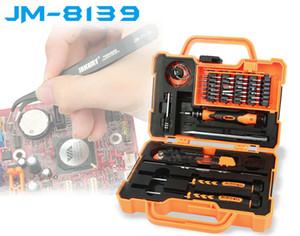 JAKEMY JM-8139 47 in 1 präzise Schraubendreher Set Repair Kit Öffnungswerkzeuge für Mobiltelefon Computer Auto Elektronische Wartung 20Sets
