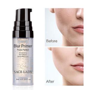 24 K Ouro zero poros maquiagem antes de base gel suave poros linhas finas maquiagem antes de hidratar 6 ml Invisível maquiagem primer fundação