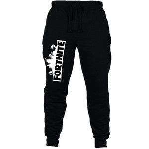 New  Sweatpants for Boys Cotton  Letter Drawstring Long Pants Boys Clothes Leggings Gaming Kids Pants 6-10Y