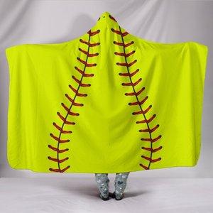 Blanket Beach Hoodie Football Inside Softball Printed Women Sherpa Hooded Sports Soccer Towel Fleece Shawl Skceg