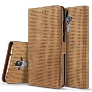 Perakende Yüksek kalite Yumuşak TPU Silikon Kılıf Anti Kayma Deri Doku Telefon Kılıfları iPhone 7 6 6 S Artı 5 5 S Samsung S7 s6 Artı