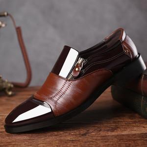 uomo oxford scarpe uomo mocassini uomo scarpe a punta scarpe da uomo scarpe uomo pelle marrone uomo vernice formale sapato social heren schoenen