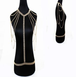 New products, European and American ornaments body chain waist chain chain
