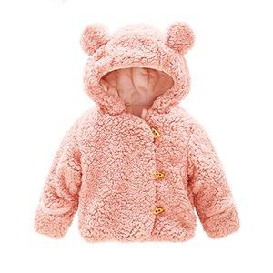 طفل الثلج ارتداء معطف الشتاء الدب للفتيان الفتيات الدافئة جاكيتات طفل قميص الرضع الزي الاطفال snowsuits