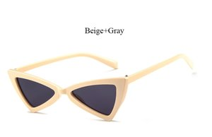 Feminino Mulheres Cateye senhora óculos de sol baratos Coodaysuft online Sun tamanho Vintage bonito de óculos pequeno Marca Óculos Mhuht