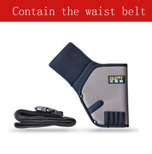 FASITE 전문 전기 기사 공구 가방 Oxford Fabric Khaki Electric Drill Hang Bags + 허리 벨트 무료 배송