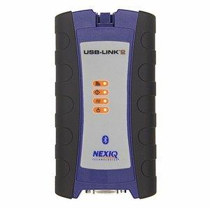 NEXIQ-2 USB Fazer a ligação Bluetooth nexiq 2 V9.5 Software Diesel interface de diagnóstico de caminhão com todos os instaladores nova interface DHL transporte livre