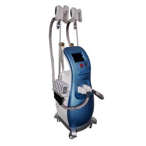 Venta caliente portátil cuerpo lipo láser que adelgaza Cryo + láser + RF + Cavitación velashape máquina