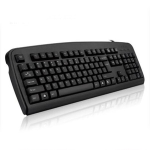 Teclado USB Com Fio Fino Teclado Preto Casa ou Escritório Uso Teclado Do Computador Teclado Para Jogos Para PC Desktop Laptop K13