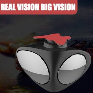 Car Blind Spot Mirror Wide Angle 360 degree Rotation Convex Rear View 2 in 1 Car Blind Spot Mirror Wide Angle Adjustable