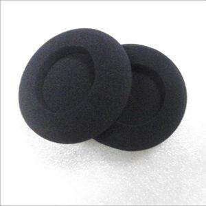 4 piezas de almohadillas de espuma de repuesto SR60 SR80 almohadilla de espuma del oído suave esponja auriculares de espuma cubierta del auricular almohadilla del oído