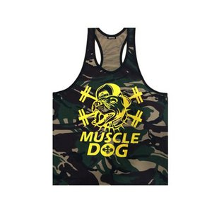 Kosmo Masa Golds Hombres Fitness Muscle Cool Tank Tops Bodybuilding Singlet Camouflage Men 's Stringer Tank Top Chaleco al por mayor