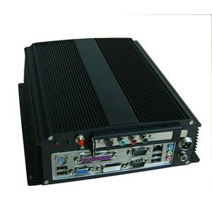 Itx Caso Com PCI Para PC PC Gaming Industrial Embarcado PC Gabinete IPC, WallMount Bracke Casos de Alumínio