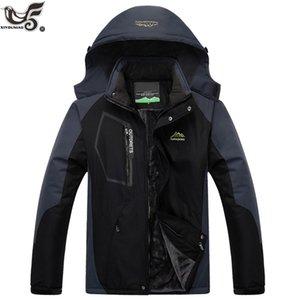 XIYOUNIAO Plus taille L ~ 7XL 8XL hiver parka hommes imperméable manteaux outwear vestes à capuche casaco masculino pardessus