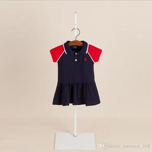 2 colori 2018 estate europea e americana NUOVO arrivo Ragazze Bambini Gonna da tennis in maglia di puro cotone lavorato a maglia per bambina