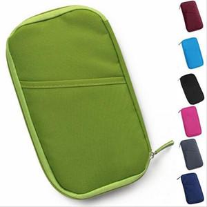20x Candy Color Travel Passport Credit ID Card Holder Cash Wallet Organizer Bag Purse Wallet Fashion KKA1344