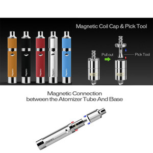 100% Оригинал Yocan Magneto Wax Starter Kit Vape Pen Kit Керамическая Катушка 1100 мАч 510 Нить Аккумулятор Vape Mod E Наборы сигарет Высокое качество