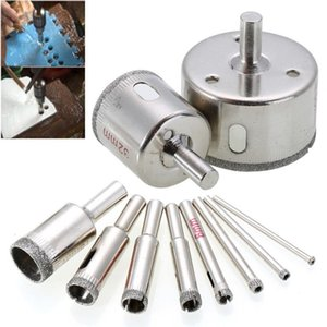 6-40mm Diamond Coated Core Hole Saw Drill Bits Tool Cutter For Tiles Marble Glass Granite Top Quality