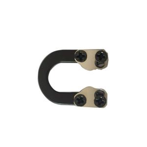 Bogenschießen Bowstring D Loop Ring Qualität Metall Ultimative Ringschnalle Seil Verwendung mit Release Recurve Compoundbogen Jagdzubehör