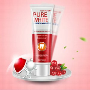 pure white toothpaste cranberry Herbal Mint Fresh Toothpaste improve gingival swelling whitening teeth repair of oral ulcers Clean Dental