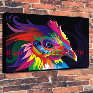 Wahyu Romdhoni Phoenix, Leinwanddrucke Wand Kunst Ölgemälde Home Decor 16 x 24 12 x 18 (ungerahmt / gerahmt)