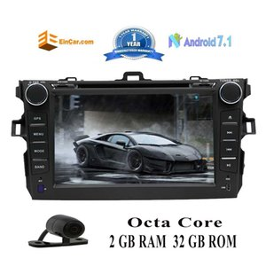 """EinCar 7 """"Doppel 2Din Android 7.1 OS Octa Core Auto Stereo GPS Auto DVD Navi In Dash Head Unit für Corolla (2007-2013)"""