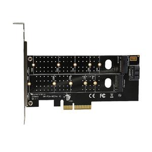 PCIE PCI Express 3.0 per NVME M.2 NGFF SSD 110mmM_Key e B_Key PCIE PCIe riser card M2