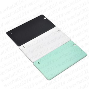 100PCS New Back Battery Door Back Cover Housing Cover for Sony C4 E5303 E5306 E5353 free DHL