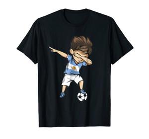 2018 Fashion Men Fashion Design Free Shipping Dabbing Soccers Argentina Jersey Shirt - Argentinian Footballer Summer Cool Tees