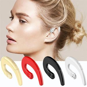 Kulak Kancası Bluetotoh Kablosuz Kulaklık HBQ-Q25 Akülü Spor Kulaklık Sigara Kulak Ağrısı Kemik İletim Kulaklık DHL Kargo
