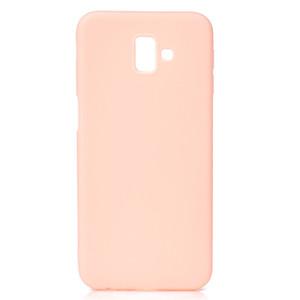 Şeker Renk Kapak Samsung Galaxy J6 Artı Vaka Yumuşak TPU Ultrathin Tasarımcı Mobie Telefon Kılıfları Capinha