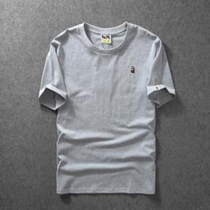Camo Baumwolle T-Shirts AAPE Flut Marke Casual Sport T-Shirts Sommer Freizeit Bestickte T-Shirts Für Mann Kurzarm T-Shirt