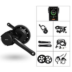 BBSHD 48V 1000W Suporte Inferior do Motor 120mm Bafang 8fun Kit de Bicicleta Elétrica Mid Crank Motor com Display eBike Kit de Motor Central