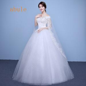 Старинные Кристалл свадебное платье кружева aline бусины cap рукавом аппликации невесты свадебные платья нестандартного размера реальные фото vestido де noiva