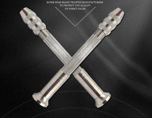 Mini Micro Drill Hss Twist Bits 0.5mm-3.0mm Con Perforadora manual Perlas Perlas Joyería Reloj Reparación Modelo Craft Wood