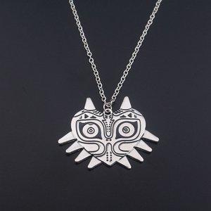 Silber Die Legende von Zelda Halskette Megira Maske Persona Halskette Legierung Eulenform Zelda Anhänger Halskette für Fans