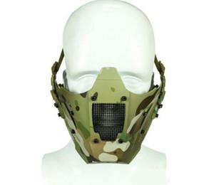 전술 JAY FAST 모듈 PDW 메쉬 마스크 반 얼굴 마스크 AF 헬멧 위장