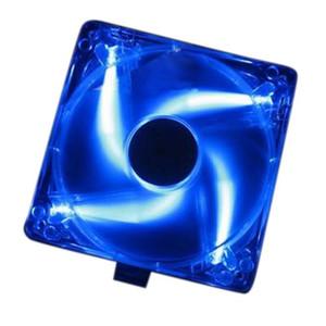 Бесплатная доставка 10 шт. горячий компьютер PC Case синий LED Неоновый вентилятор радиатор кулер 12 В