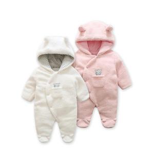 Mode Frühjahr Baby Mantel Lamm Cashmere Baby Pyjamas für Neugeborene Kostüm Zwillinge Neugeborenen Kleidung, Säugling Mädchen Kleidung