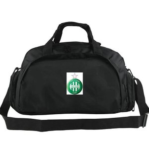 Saint etienne duffel bag ASSE club tote Trip backpack Football luggage Exercise shoulder duffle Outdoor sling pack