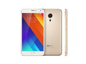 Оригинал Meizu MX5 4G LTE мобильный телефон Helio X10 окта Ядро 3GB RAM 16GB 32GB ROM Android 5,5-дюймовый 20.7MP камера отпечатков пальцев ID сотовый телефон